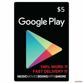 Google Play Gift Card Code Myr Rm10 20 50 3 Minit Deals Shopee Malaysia