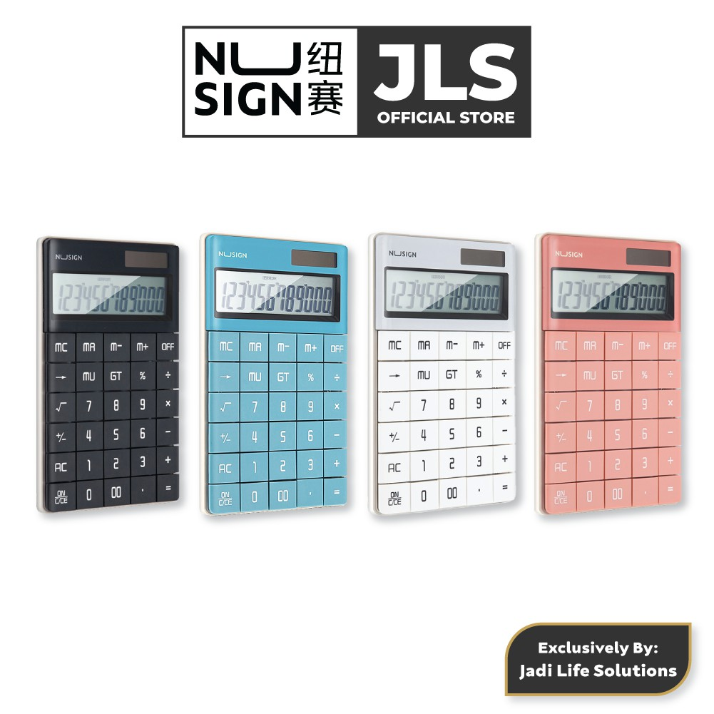 Jadi Nusign Grand Calculator Collector Colour Set