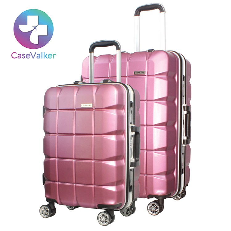 Case Valker Fuji Alu-Frame Collection ABS Travel Luggage Bag 2IN1 24