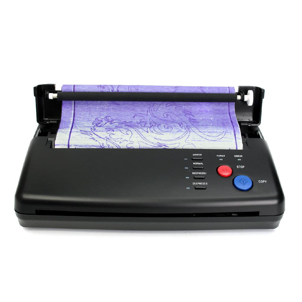 100-240V Tattoo Thermal Stencil Maker Copier Transfer Printer Flash Machine