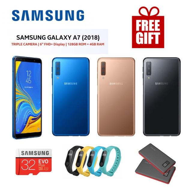 Samsung Galaxy A7 (2018) [4GB RAM 128GB ] Original Samsung