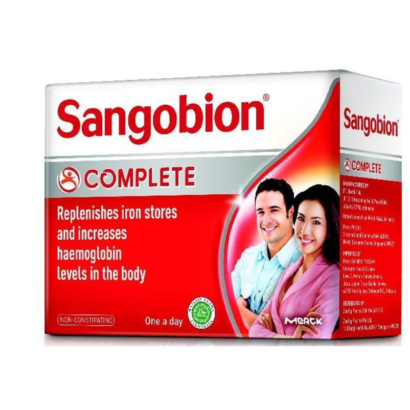 Sangobion Capsules 28\'s / 100\'s