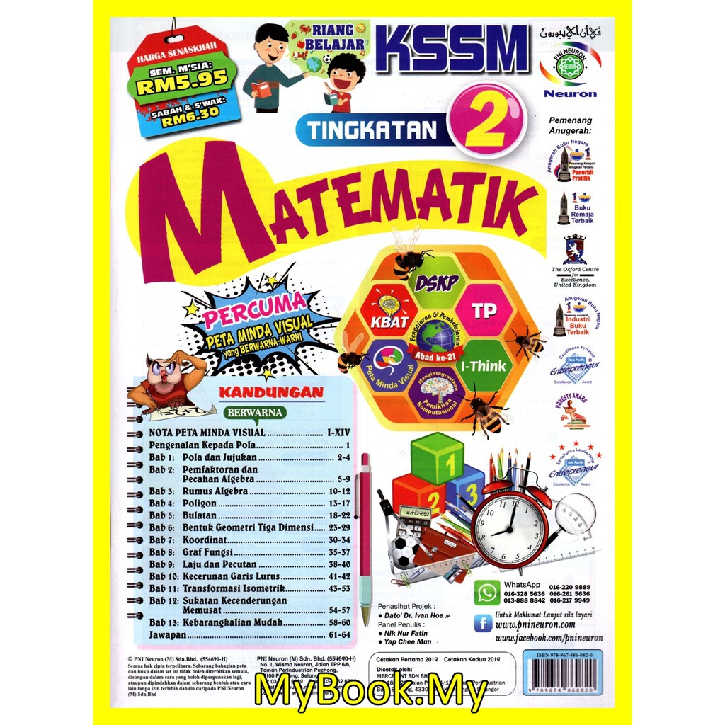 Buku Latihan Matematik Tingkatan 2 Sasbadi - Tingkatan 2 ...