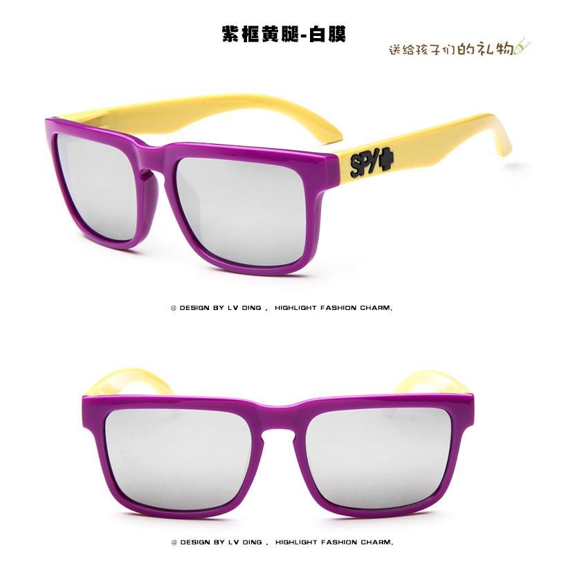 88cf6abfdc9b Kids Cool Sunglasses Spy Colorful Children Eyewear Children Holiday  Sunglasses   Shopee Malaysia