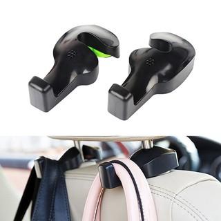 1x Black Car Seat Hook Purse bag Hanger Bag Organizer Holder Clip Accessories HD