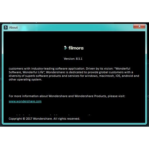 DVD Filmora Video Editor 8 5 1 (Pirate)