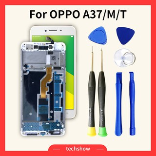 [Free Tools]Original LCD for OPPO Neo 9 A37 A37F Display with Touch Screen  Digitizer