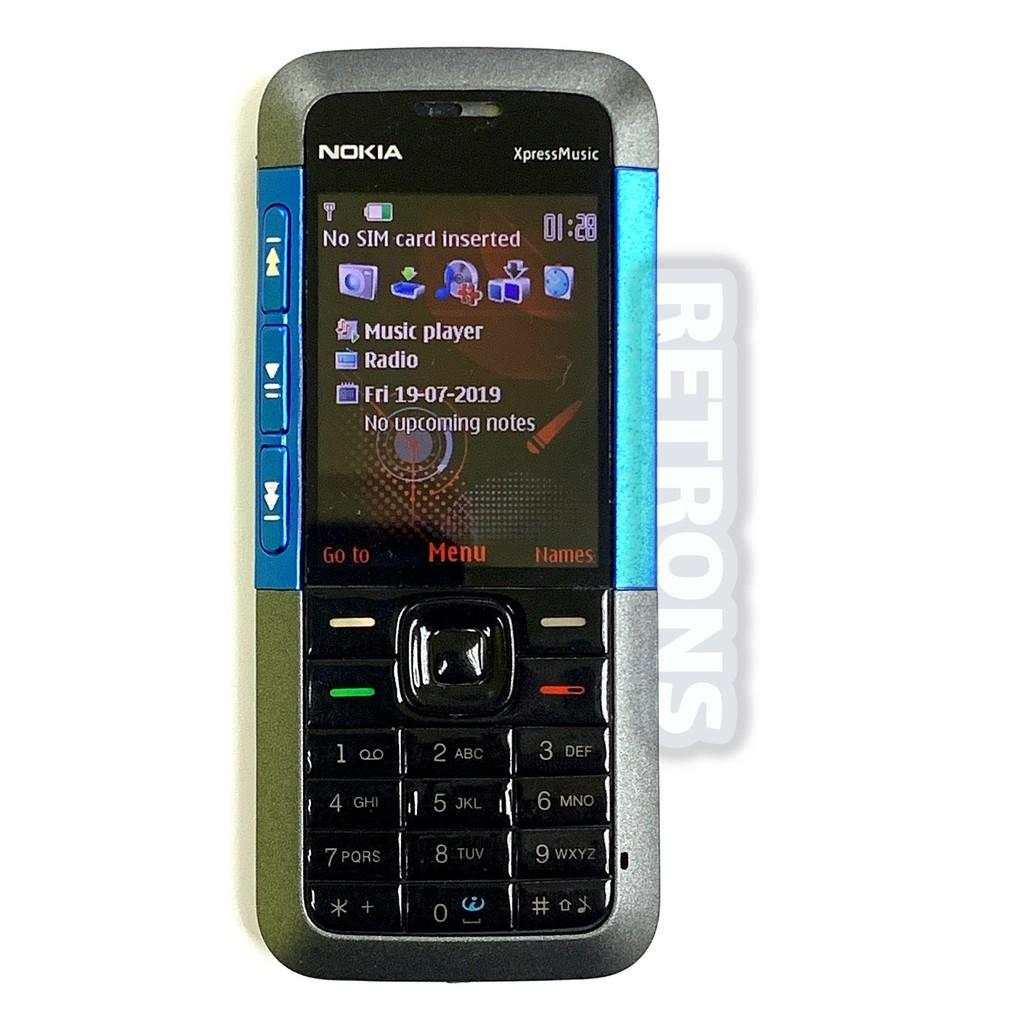 Original Nokia 5310 Xpress Music Full Set [ 1 Month Warranty ] Free RM50 Voucher [Premium Refurbished by Retrons]