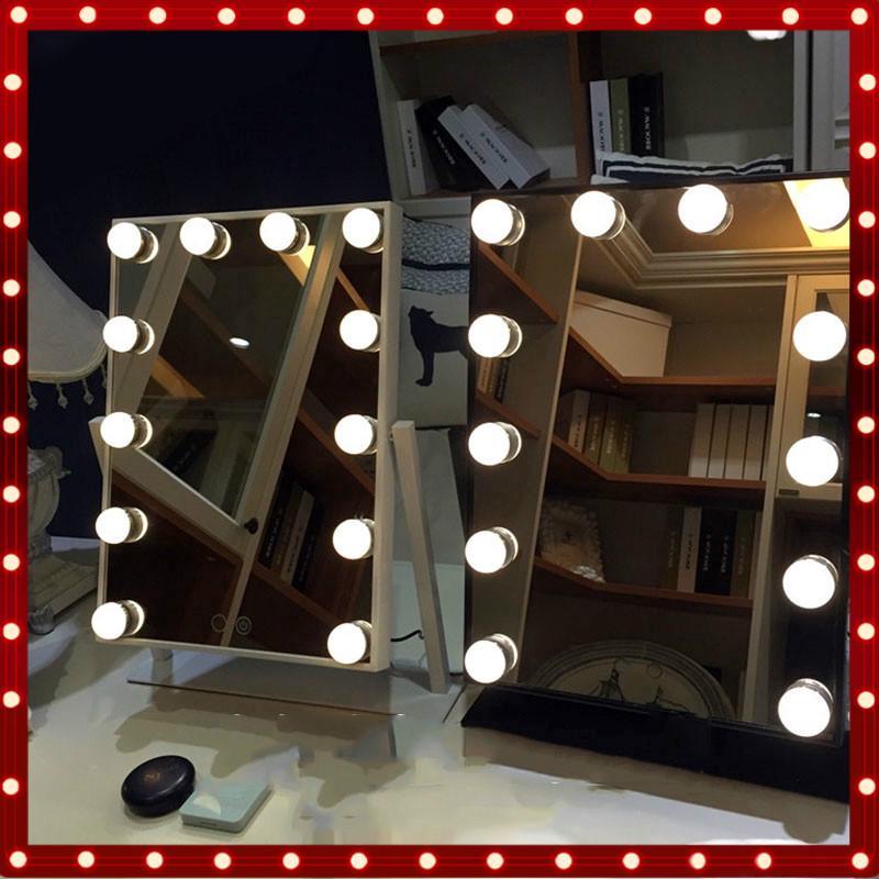 Diy Light Bulb Dressing Table Vanity, Diy Lampu Makeup