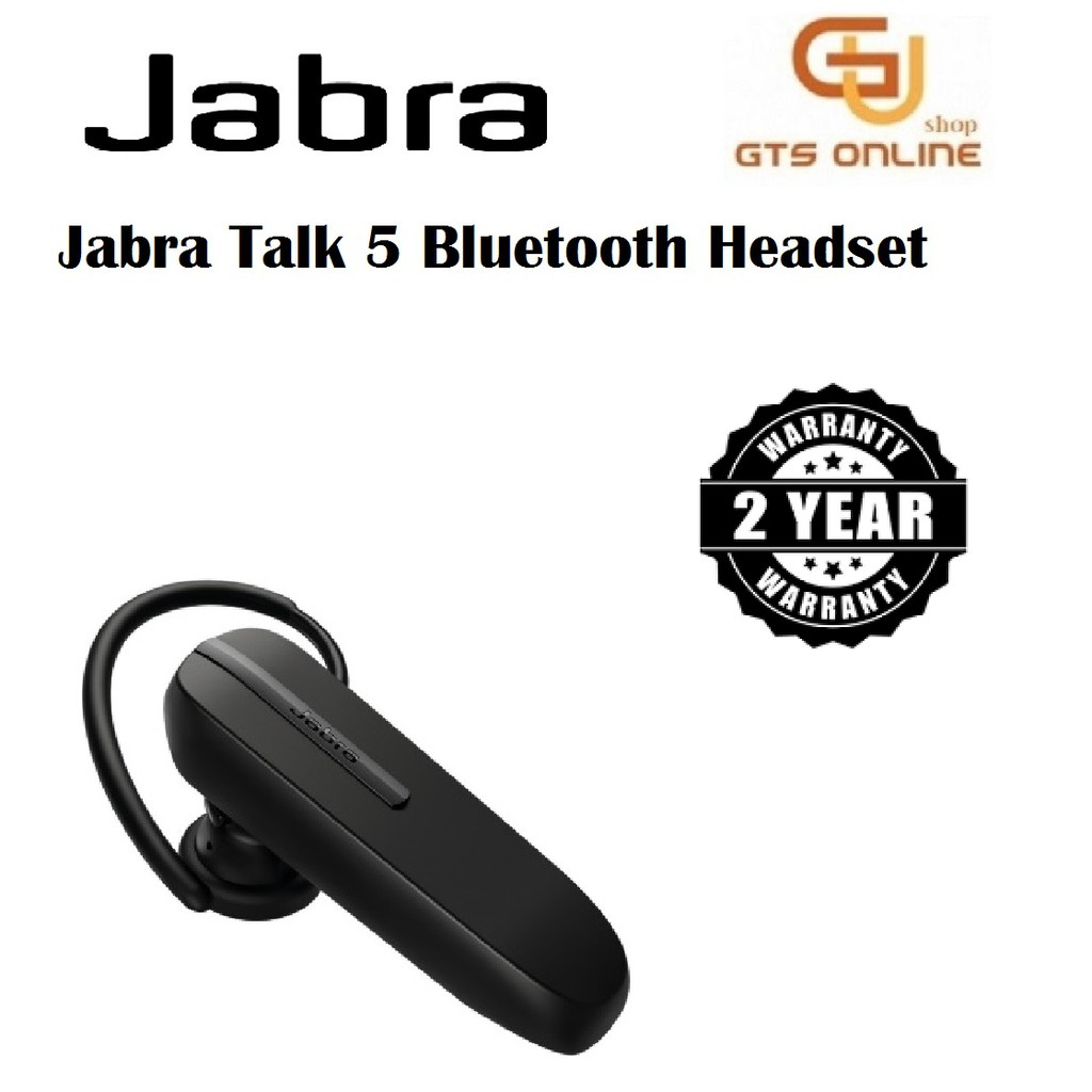 Jabra Talk 5 Bluetooth Wireless Mono Headphone Earphone In Ear Clear Audio Shopee Malaysia