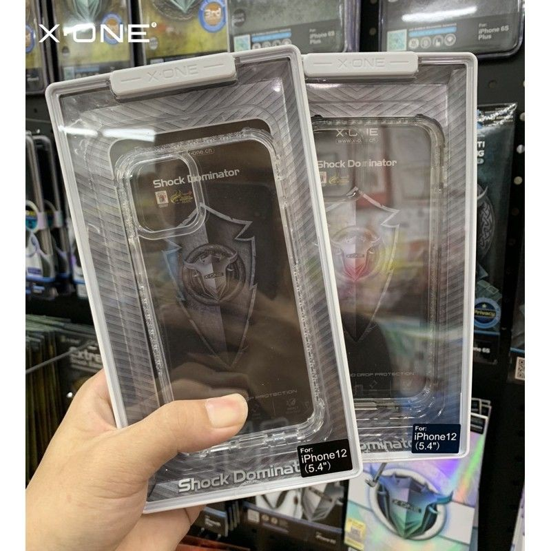X-One DropGuard Pro Clear Case for iPhone 12 Mini / IPhone 12 / 12 Pro / 12 Pro Max