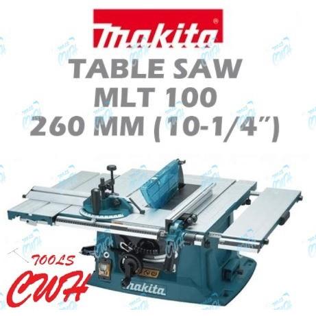"""MAKITA MLT100 1500W 10"""" 255MM TABLE SAW TABLESAW MLT 100 WOOD CUTTER"""