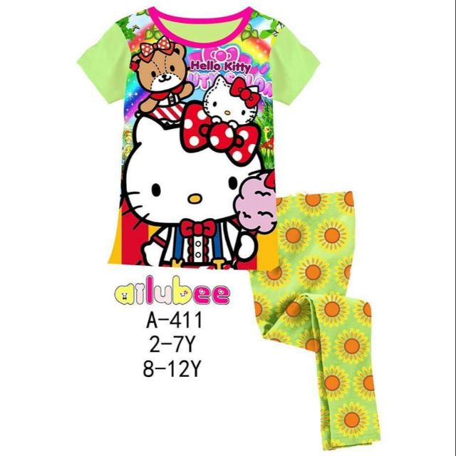2c86d33ec Clearance Pyjamas Hello Kitty (11y) | Shopee Malaysia