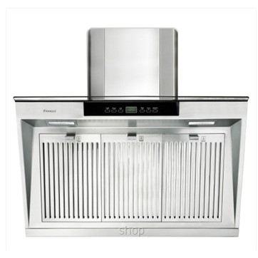 Firenzzi Stainless Steel Velencia Designer Hood With Stainless Steel Oil Cup And Evora Filter Fch-9733 Fch9733 1490M3/Hr