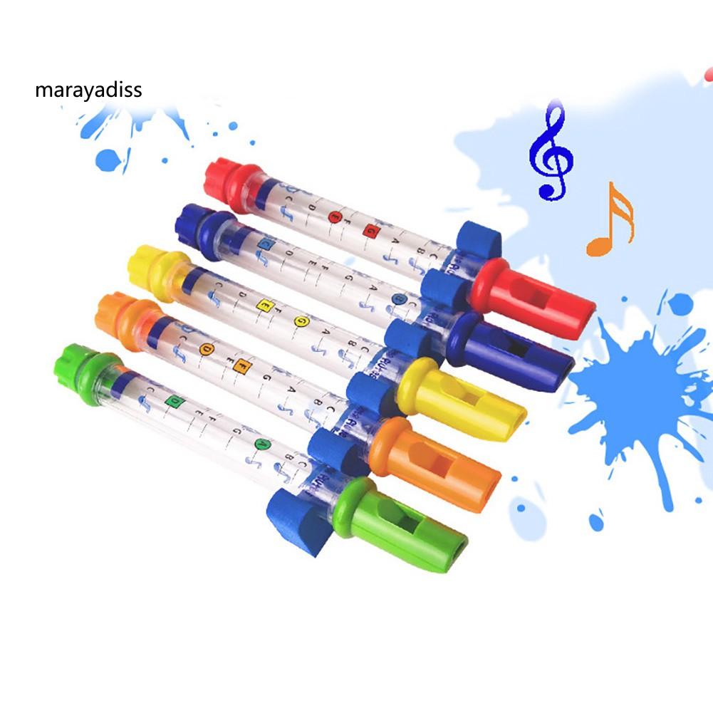 Kids Children Colorful Water Flutes Bath Shower Music Instrument Tune Toy