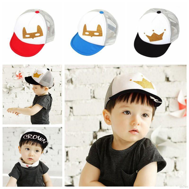 ca60954117d Summer Newborns Baby Boys Girls Hat Ears Beard Cat Print Cap Cotton Sun Hats