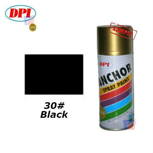 Anchor-30#(Black) Aerosol spray paint-400ml