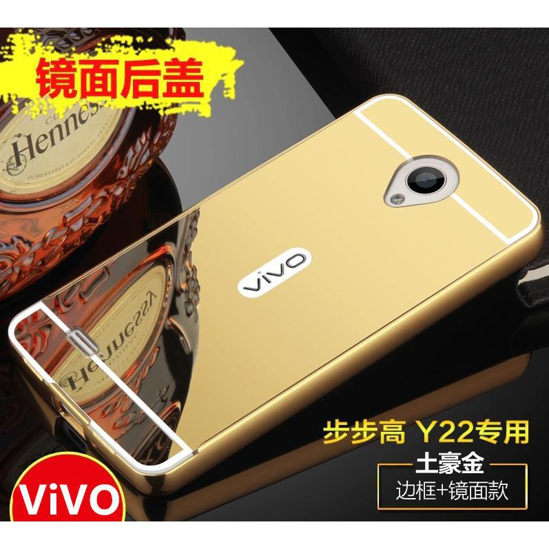 Vivo Y15 Y13 24K Mirror Metal Bumper Frame Back Case Cover Casing | Shopee Malaysia