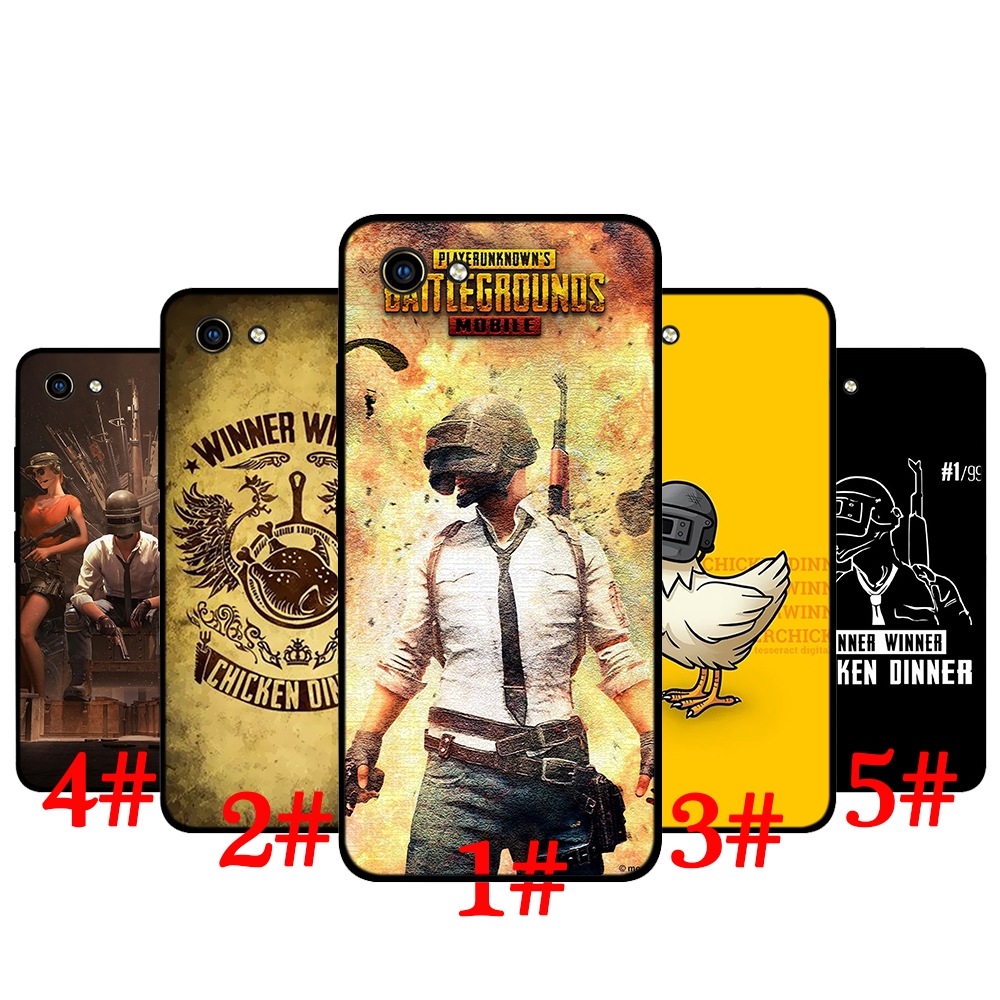 Vivo Y53 Y55 81 Y81S V5 Y67 V7 Plus Y75 Y79 V9 Y85 Y89 V11 Pro V15 S1  Playerunknown's Battlegrounds PUBG TPU Soft Case