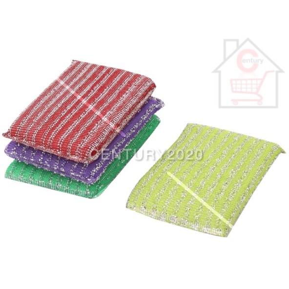 RIMEI Economic Sponge Scouring Cloth Pad Kitchen Brush Dish Strong Cleaning Sponge Kitchen Dish Washing