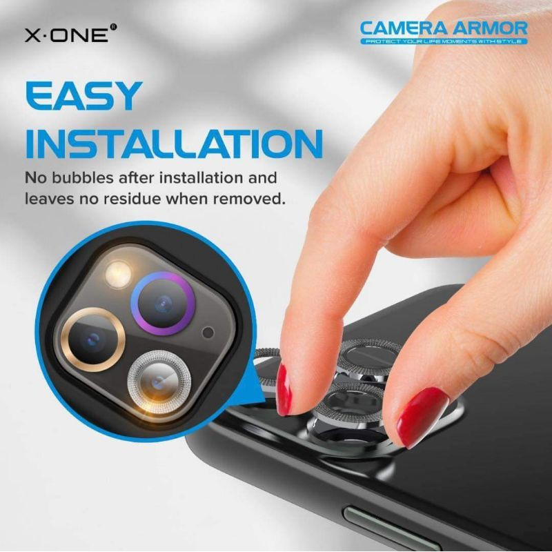 X.One Camera Armor for iPhone 12 Mini iPhone 12 iPhone 12 Pro IPhone 12 Pro Max ( READY STOCK)