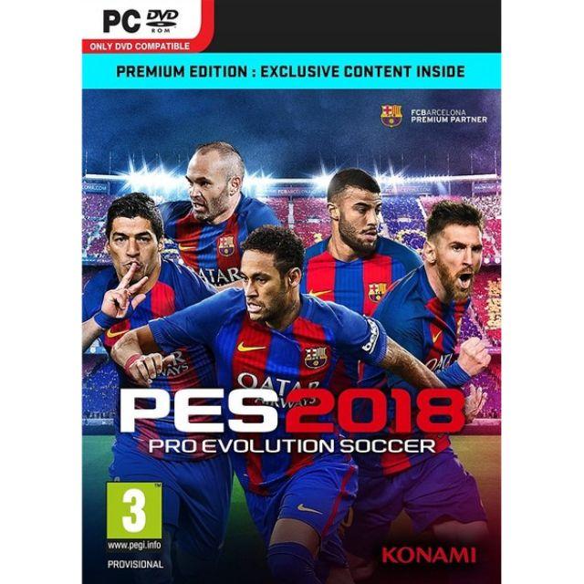 (PC) Pro Evolution Soccer 2018 / PES 2018 (digital download)
