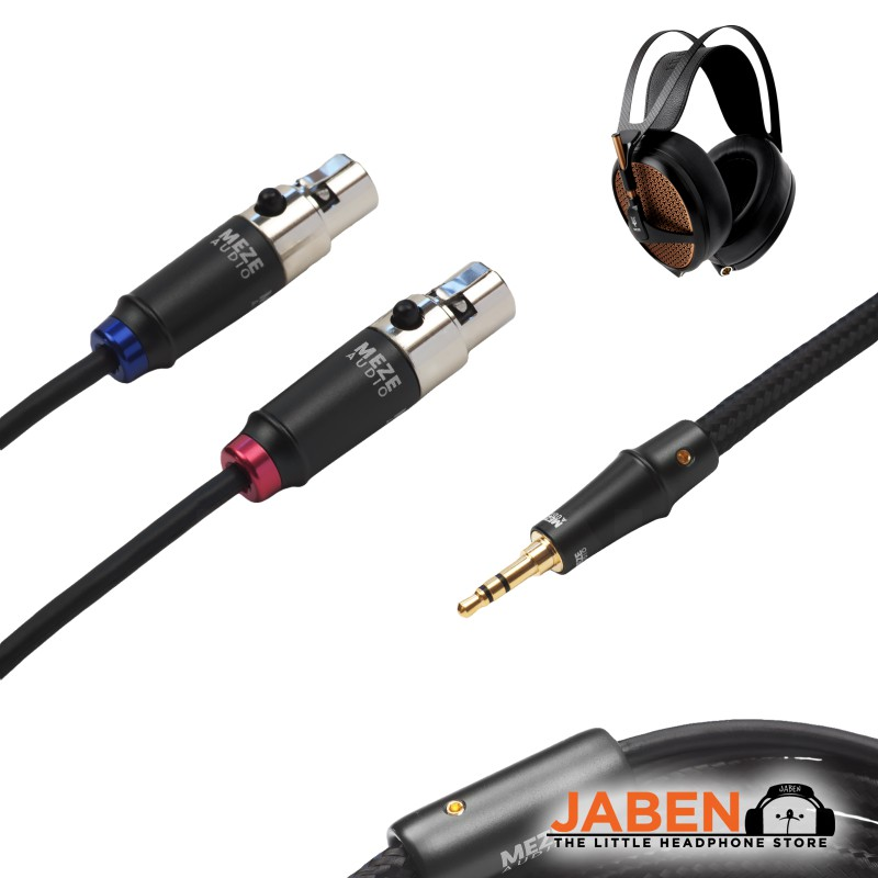 Meze Audio Empyrean Artisan Craftsmanship Planar Magnetic Wired Semi-Open Over-Ear Headphones [Jaben]