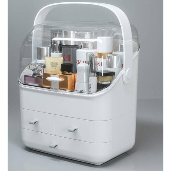Makeup Organizer Box, Cosmetics Storage Display Holder with Drawers