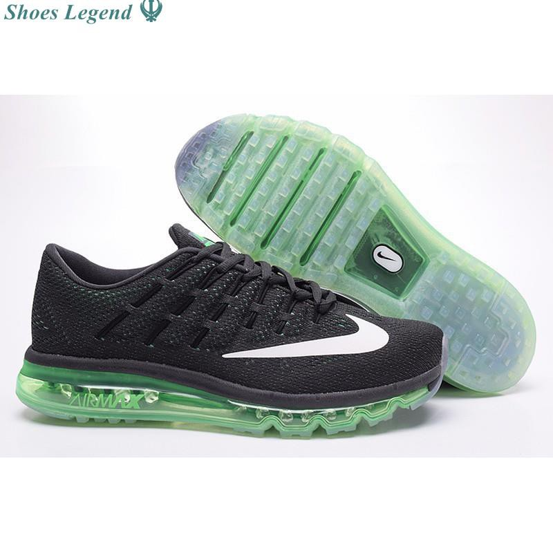 newest 15419 147b4 ProductImage. ProductImage. NIKE Air Max2016 green black men and women ...