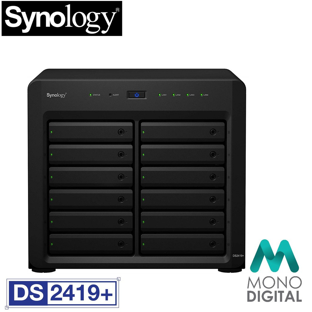 Synology DS2419+ NAS DiskStation 12-Bays (DS2419+)