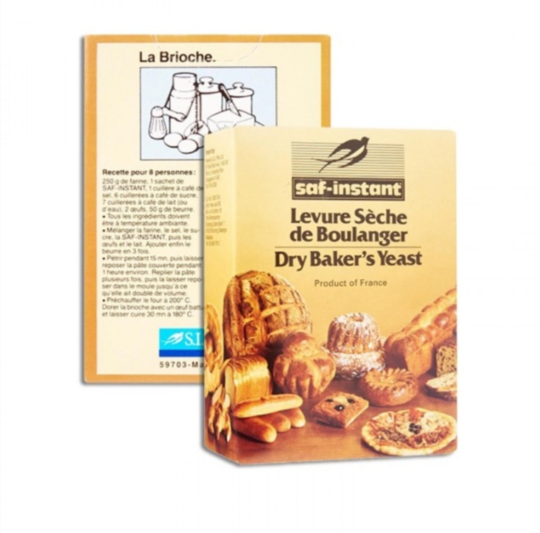 SAF, Instant Dry Yeast, 5 Sachets, 55g