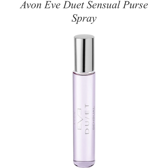 Avon Eve Duet Radiant Eau De Parfum Purse Spray 10ml Shopee Malaysia