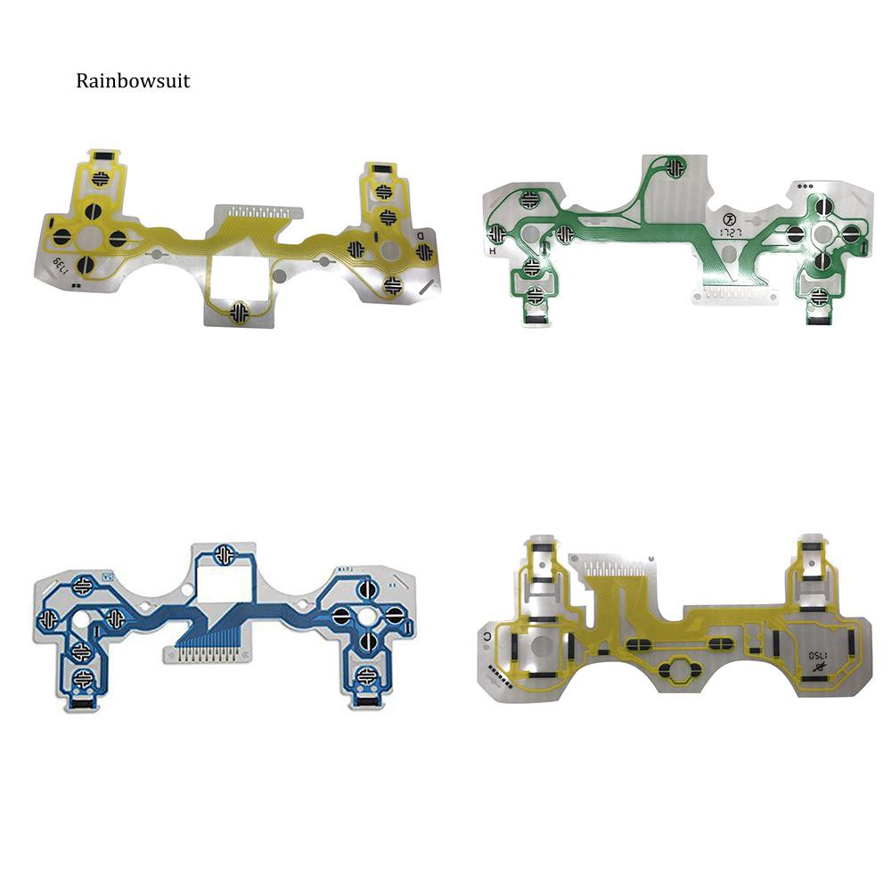 【RB】Controller Button Membrane Circuit Conductive Film Flex Cable for PS4  Handle