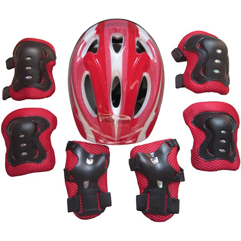 Durable 8-12 Years Child Kids Cycling Roller Skating Protective Gear Pads Set