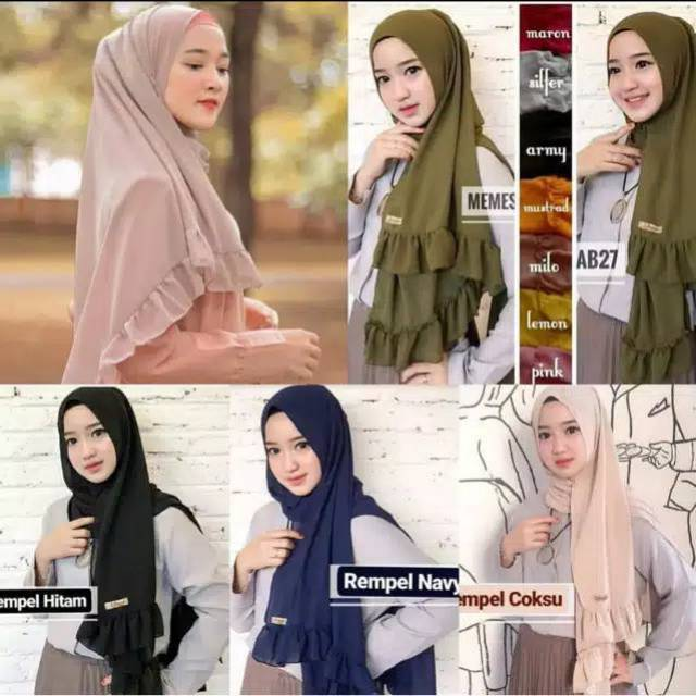 Pashmina Double Sided Rempel 75x165cm Shopee Malaysia