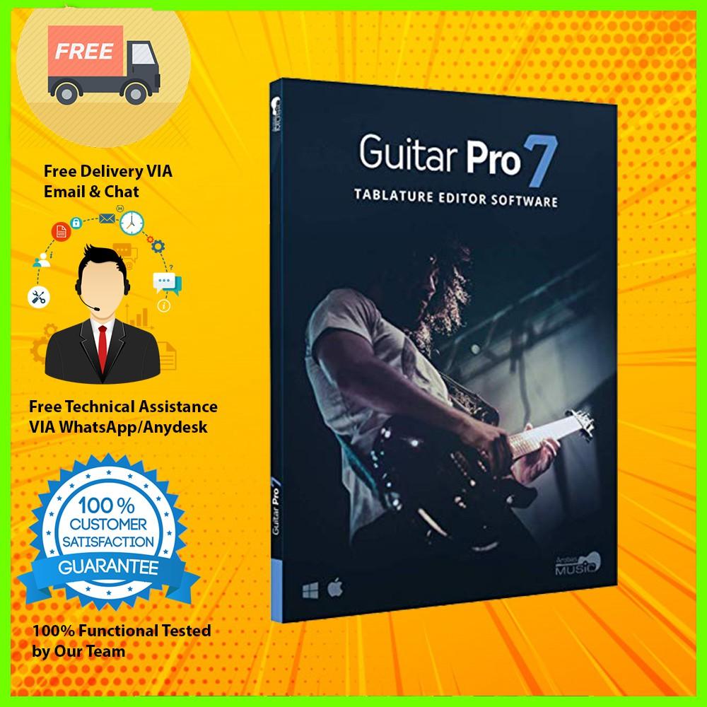 Guitar Pro 7 + Soundbanks Full Version