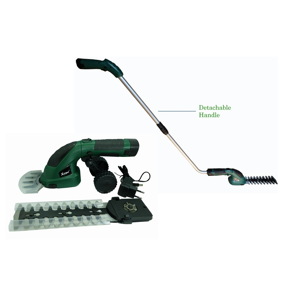 Xugel Cordless Grass Cutter and Branch Trimmer with 1 meter Extension Option