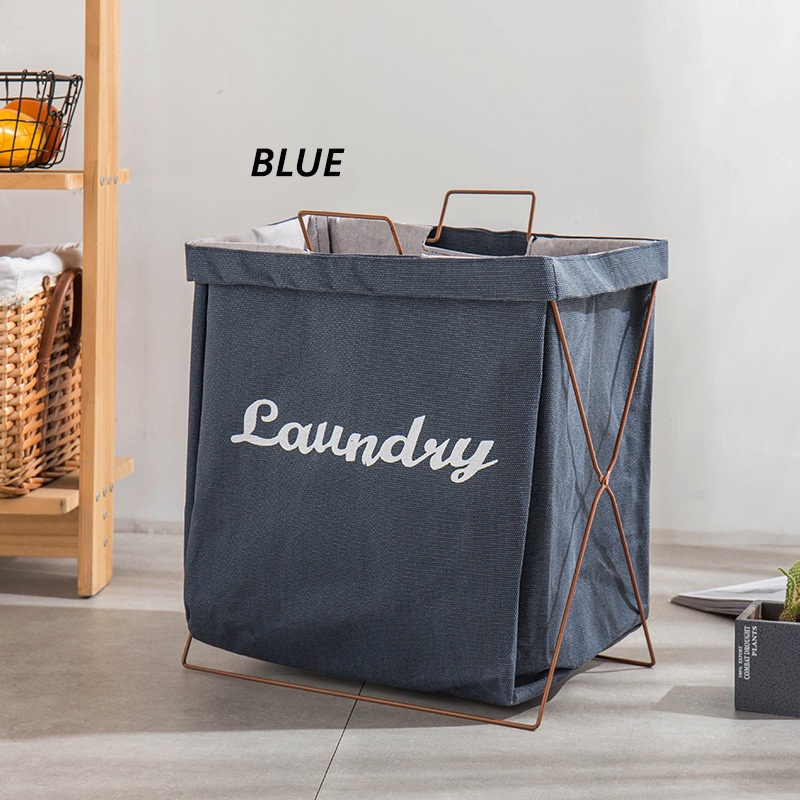 GDeal Multifunctional Foldable Dirty Waterproof Cotton And Linen Laundry Basket