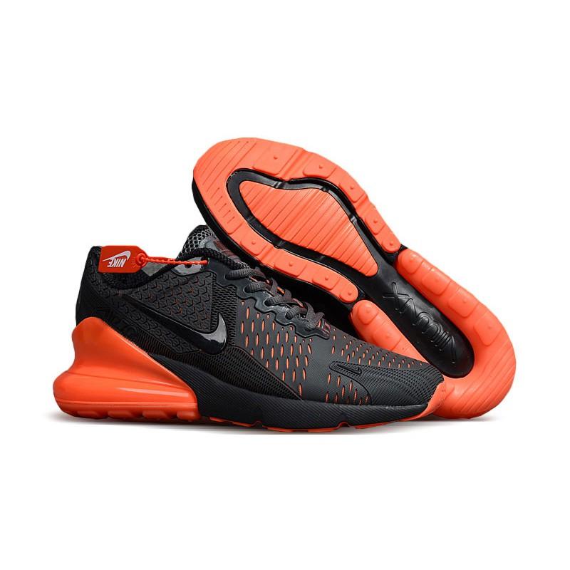 best sneakers ed6d7 80009 Mens Nike Air Max 270 Orange Black