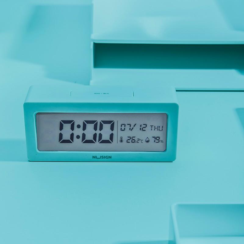Jadi Nusign Lagoon Blue Multifunctional Alarm Clock NS881