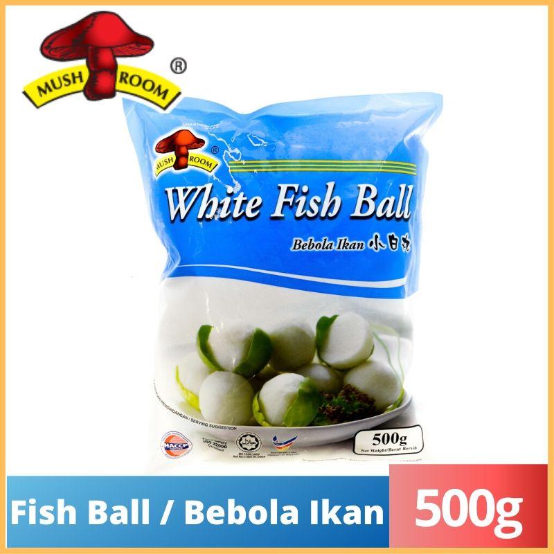 Mushroom Fish Ball / Berbola Ikan (S) (500g)