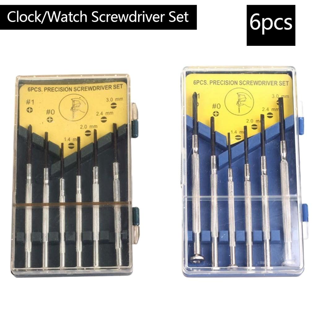 6Pcs//Set Small Precision Screwdriver Set Watchmakers  Precision Screwdriver RDR