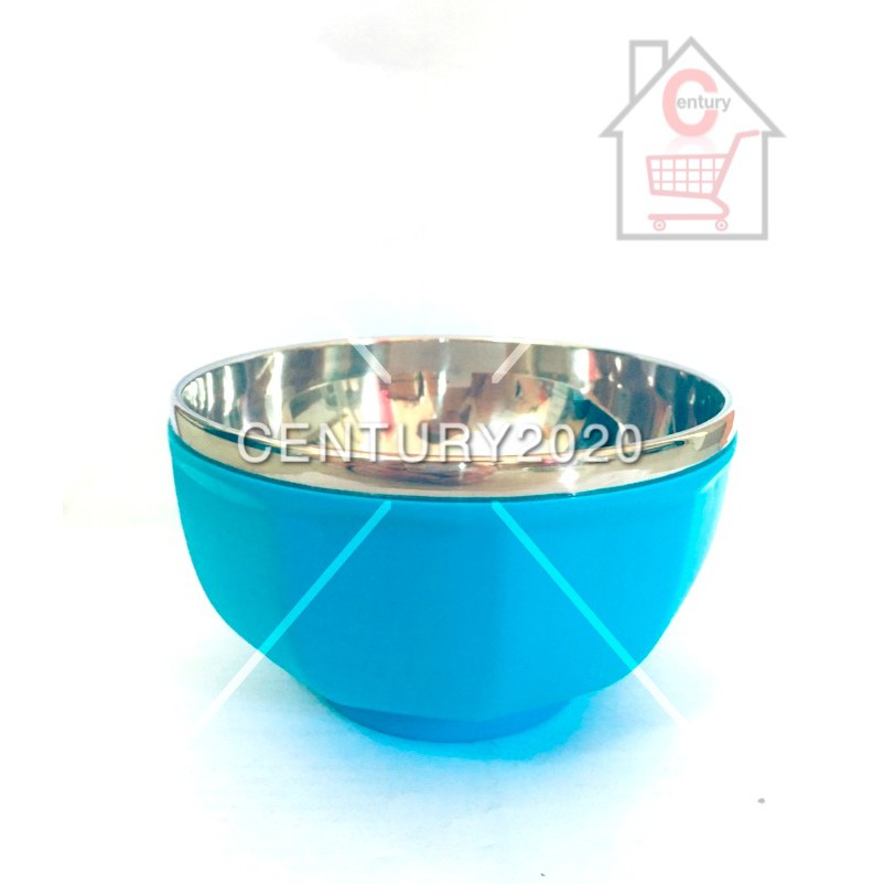 RIMEI Children Kids Bowl Stainless Steel Bowl Kids Bowl Medium Round Design