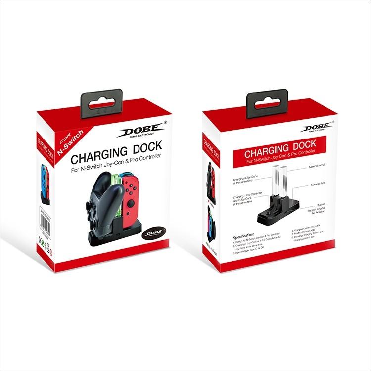 Dobe Joy-Con & Pro Controller Charging Dock (TNS-879) - Nintendo