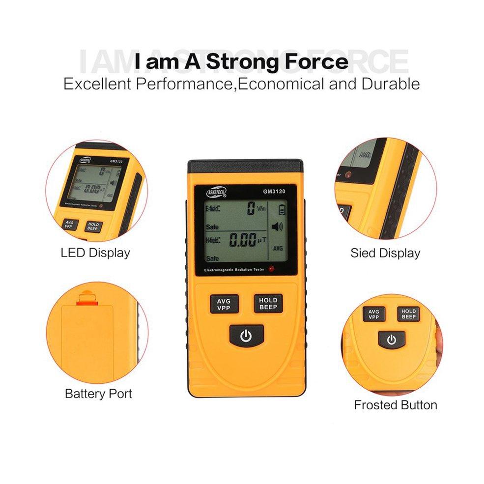 GM3120 Digital LCD Electromagnetic Radiation Detector EMF