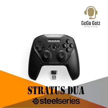 {69075}{Ship Out Within 24 Hours} STEELSERIES STRATUS DUO CONTROLLERS – Made for Android, Windows, and VR