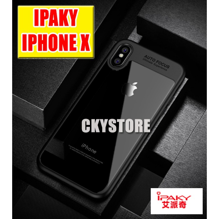 newest a3373 917fa APPLE IPHONE X XS Ori iPaky 0.38mm Slim Transparent TPU Case