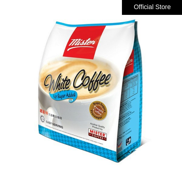 [Mister Coffee] White Coffee No Sugar Added (15 sachets)