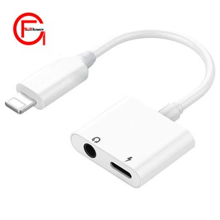 Lightning Jack Headphone Adapter for iPhone Dongle Earphone Audio