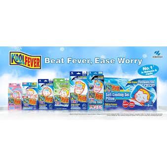 KoolFever for Baby / Children / Adult [2's / Pack]